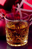 Christmas time and drink Royalty Free Stock Photography