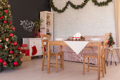 Christmas time at home Stock Photography