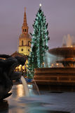 Christmas Time in London Stock Image
