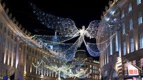 Christmas time in London at Regent Street - LONDON, ENGLAND - DECEMBER 10, 2019