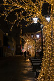 Christmas time in Moscow Stock Photography
