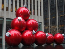 Christmas Time in New York City Royalty Free Stock Image