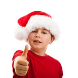 Christmas time - OK sign Stock Photo