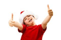 Christmas time - OK sign Stock Photos