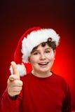 Christmas time - OK sign Royalty Free Stock Photos