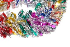 Christmas tinsel Royalty Free Stock Photography