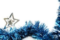 Christmas tinsel Stock Photography