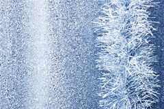 Christmas Tinsel Background Stock Photo