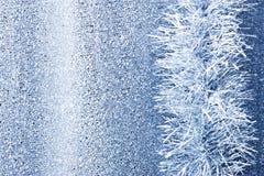 Christmas Tinsel Background Stock Photo