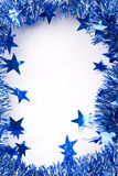 Christmas Tinsel Border Stock Photography