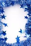 Christmas Tinsel Border. Christmas Decoration(Tinsel) + Add Text Stock Photography