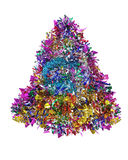 Christmas tinsel royalty free stock photo