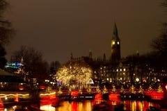 Christmas at the Tivoli in Copenhagen Stock Photo