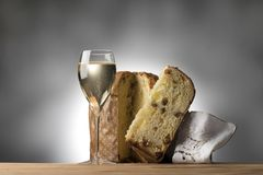 Christmas toast Royalty Free Stock Photography
