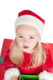 Christmas toddler Royalty Free Stock Image