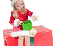 Christmas toddler Stock Image