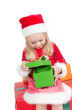 Christmas toddler Stock Photography
