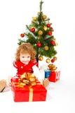 Christmas toddler Royalty Free Stock Photos