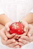 Christmas together Royalty Free Stock Photos