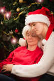 Christmas together Stock Images