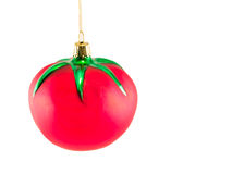 Christmas Tomato Ornament 1 Royalty Free Stock Images
