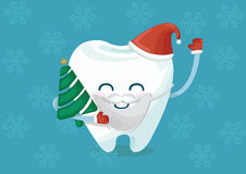 Christmas tooth Royalty Free Stock Photo