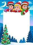 Christmas topic frame 3 Stock Photo