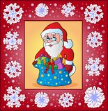 Christmas topic greeting card 3 Royalty Free Stock Image