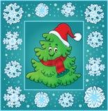 Christmas topic greeting card 7 Stock Photo