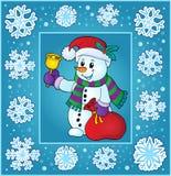 Christmas topic greeting card 9 Royalty Free Stock Photo