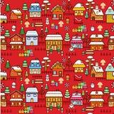 Christmas Town Royalty Free Stock Image