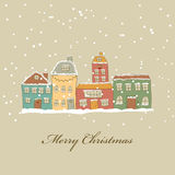 Christmas Town Royalty Free Stock Photo