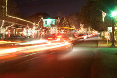 Christmas town usa Royalty Free Stock Photos