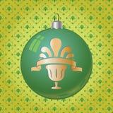 Christmas toy. Christmas ball toy vector eps 10 stock illustration
