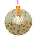 Christmas toy. Isolated On white background Royalty Free Stock Image
