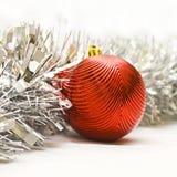 Christmas toy. On the white Royalty Free Stock Photos