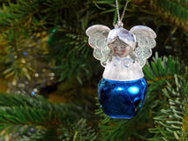 Christmas toy angel Stock Images