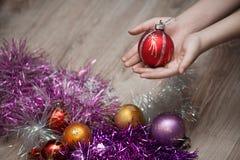 Christmas toy ball Royalty Free Stock Photos