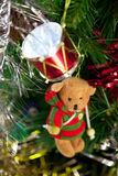 Christmas Toy Bear Royalty Free Stock Photography