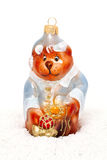 Christmas toy bear Stock Image