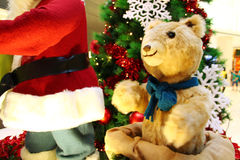 Christmas Toy bear Royalty Free Stock Photos