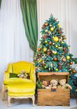 Christmas toy for Christmas tree. Royalty Free Stock Images