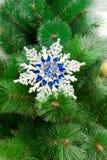 Christmas toy on a Christmas tree closeup Royalty Free Stock Photos