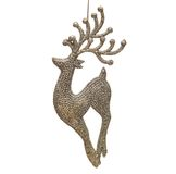 Christmas toy deer Stock Images