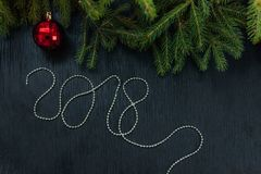 Christmas toy drive. Christmas elkay. Christmas gifts. Beautiful photo Royalty Free Stock Image