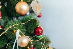 Christmas toy drive. Christmas elkay. Christmas gifts. Beautiful photo Royalty Free Stock Images