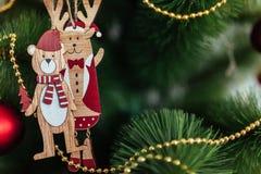 Christmas toy drive. Christmas elkay. Christmas gifts. Beautiful photo Royalty Free Stock Photos