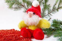 Christmas Toy Gnome Stock Photography