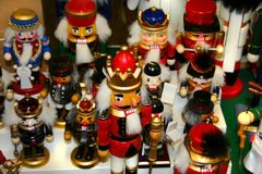 Christmas toy handi crafts Royalty Free Stock Photos