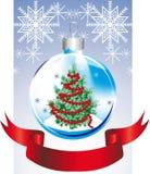 Christmas toy with herringbone Stock Image